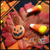 Happy Pumpkin Halloween Badge