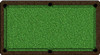 ArtScape Green Drops Pool Table Cloth