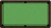 ArtScape Green Mosaic Pool Table Cloth