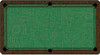 ArtScape Green Circuit Board Pool Table Cloth