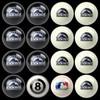 Colorado Rockies Pool Balls