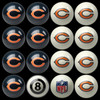 Chicago Bears Pool Balls