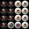 Cincinnati Bengals Pool Balls