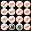 Detroit Red Wings Pool Balls