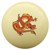 Red Chinese Dragon Cue Ball