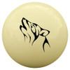 Tribal Wolf Cue Ball