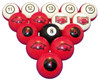 Arkansas Razorbacks Numbered Billiard Ball Set