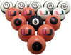 Miami Hurricanes Numbered Billiard Ball Set