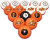 Oklahoma State Cowboys Numbered Billiard Ball Set