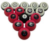 Georgia Bulldogs Numbered Billiard Ball Set