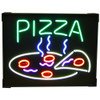 """""""Steaming Pizza"""" Neon Sign"""