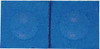 Silver Cup Pool Cue Chalk, Electric Blue 2-Piece Pack