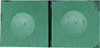 Silver Cup Pool Cue Chalk, Green 2-Piece Pack