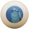 Custom Pool Cue Ball - Dolphin