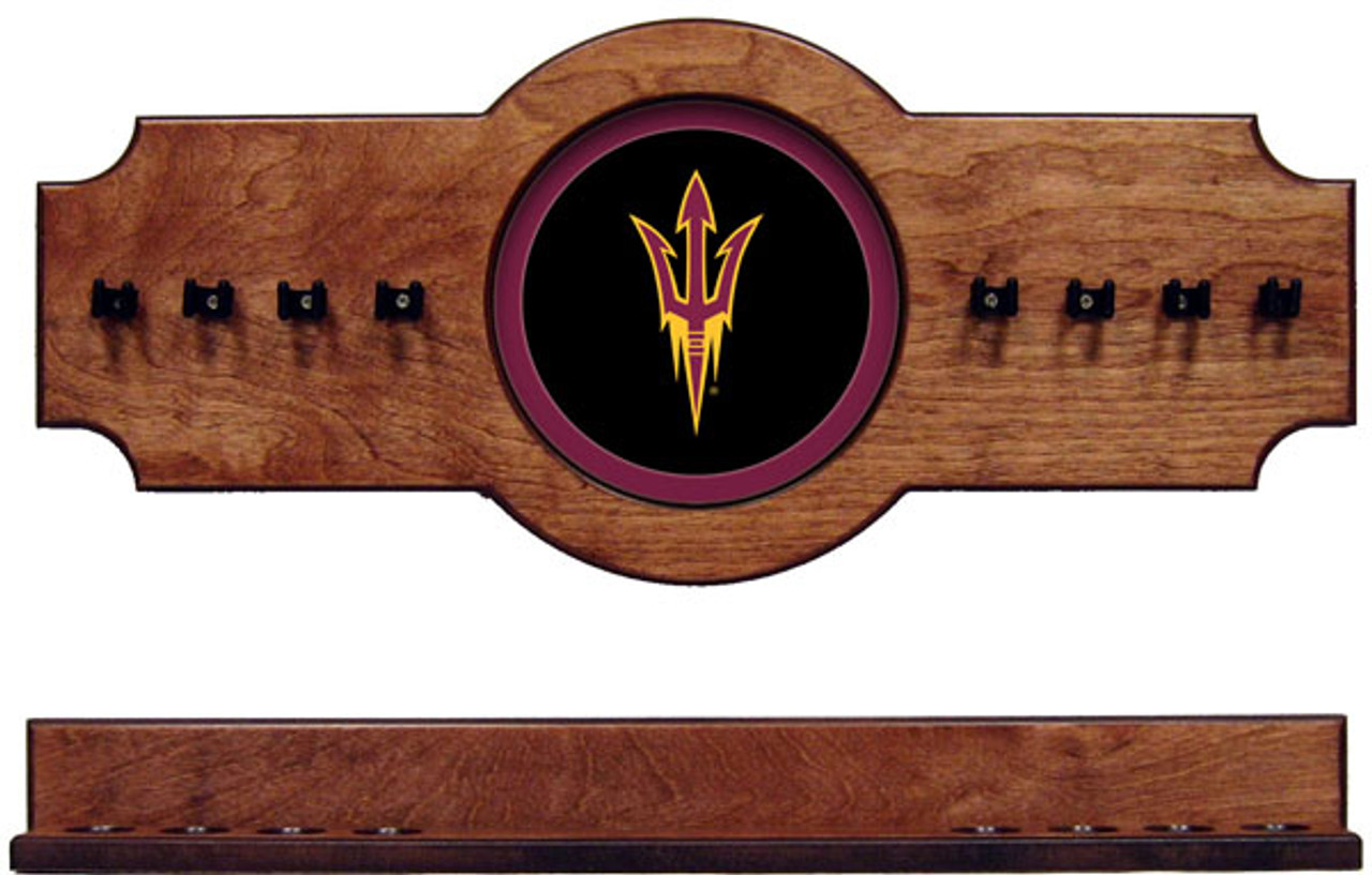 Arizona State Sun Devils 8 Cue Wall Rack