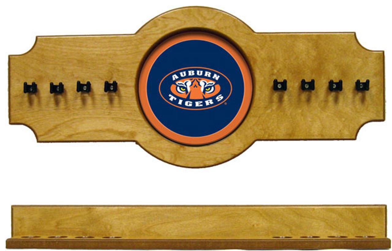 Auburn Tigers 8 Cue Wall Rack