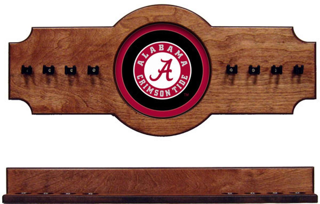 Alabama Crimson Tide 8 Cue Wall Rack