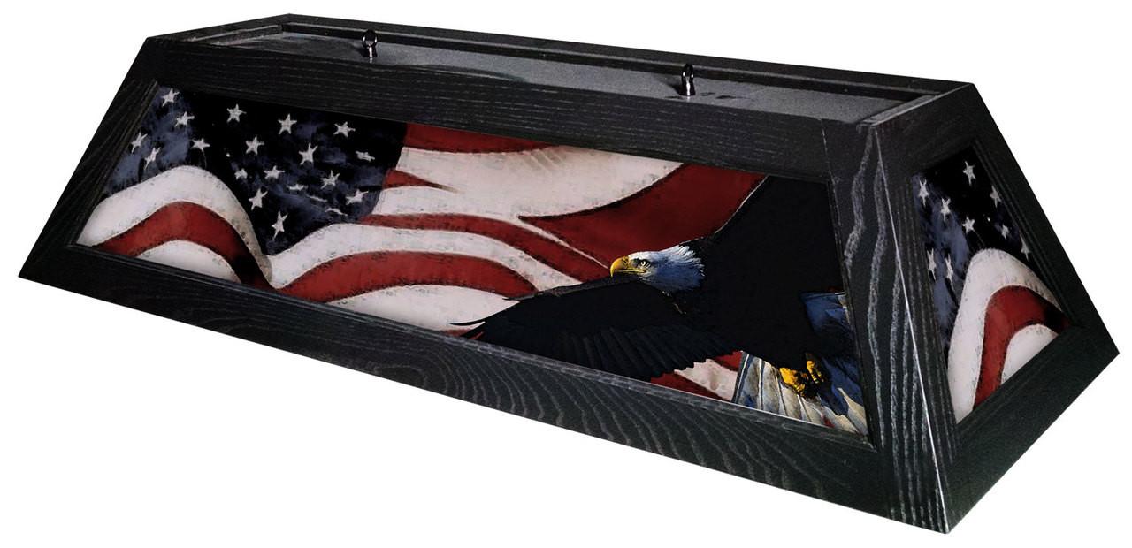 Patriot Table Light Black Frame