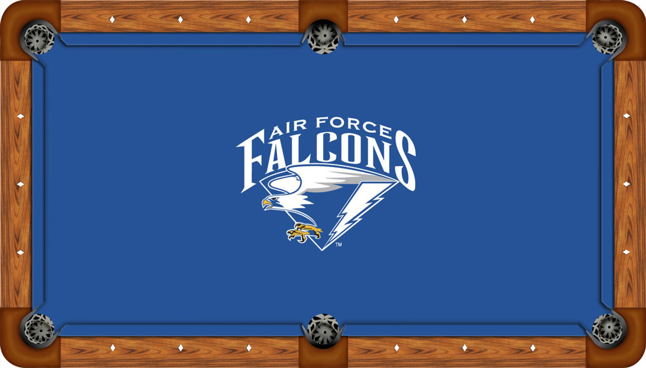 Air Force Falcons 7 foot Custom Pool Table Felt