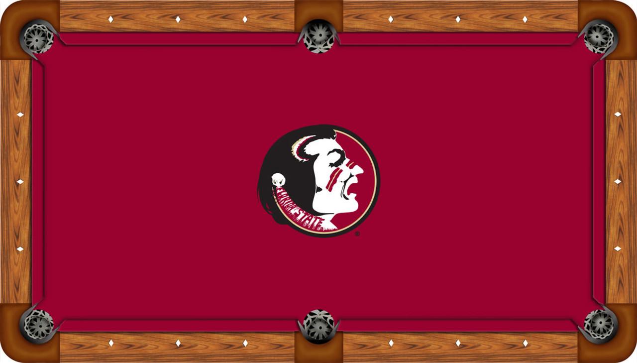 Florida State Seminoles 7 Foot Custom Pool Table Felt