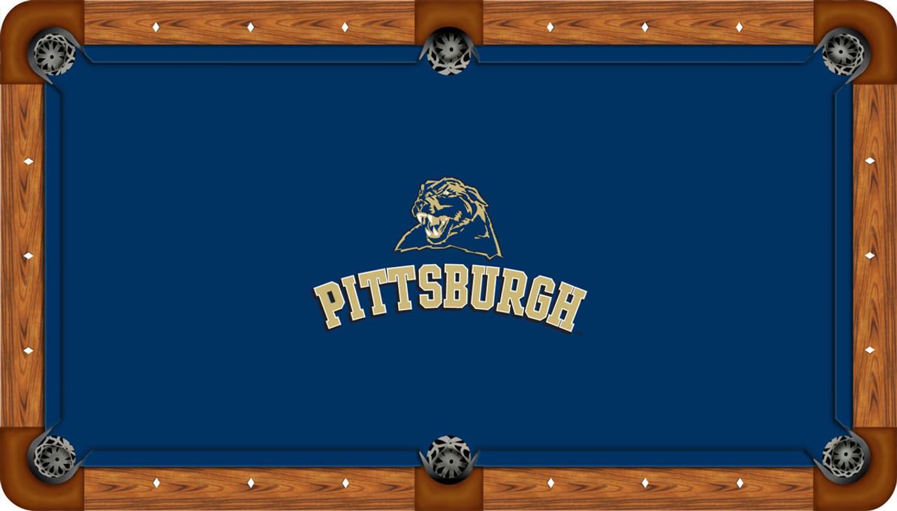 Pitt Panthers 9 foot Custom Pool Table Felt