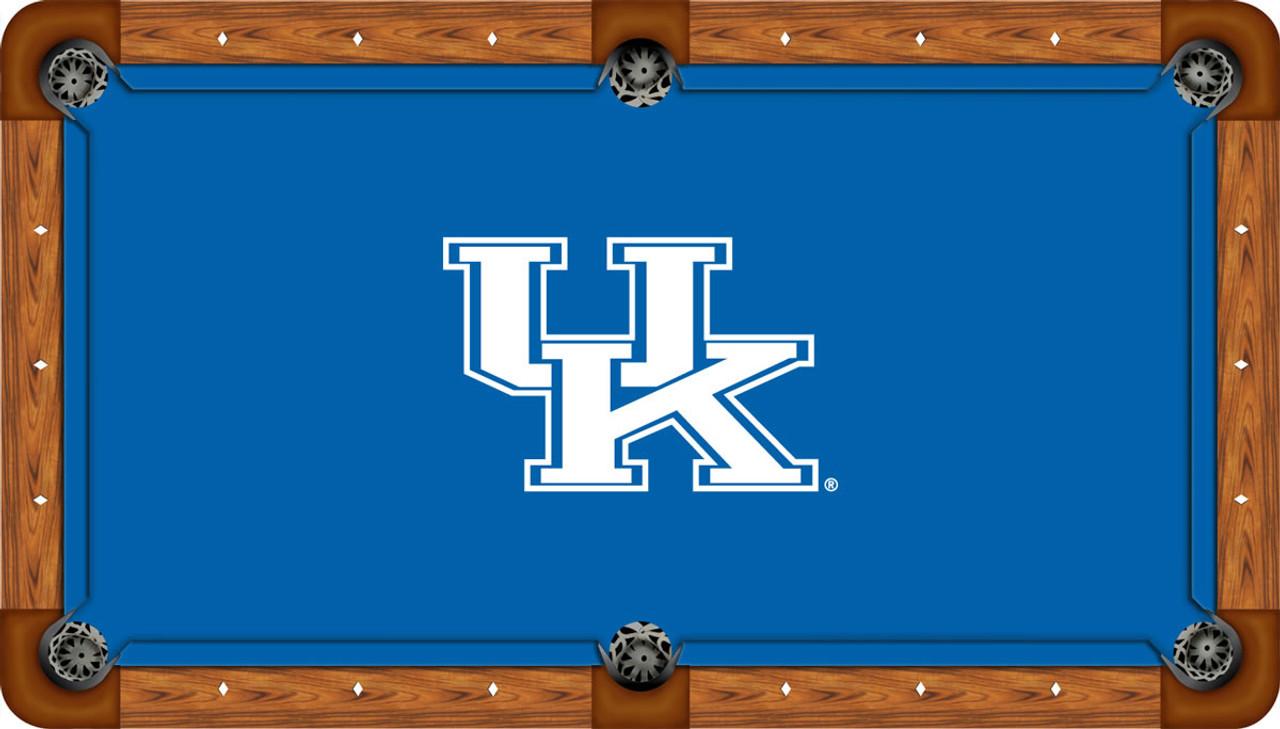 Kentucky Wildcats 7 foot Custom Pool Table Felt