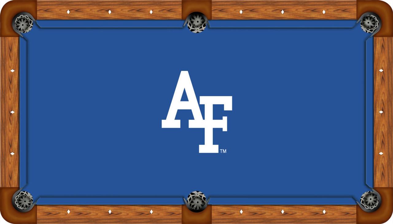 Air Force Falcons 8 foot Custom Pool Table Felt
