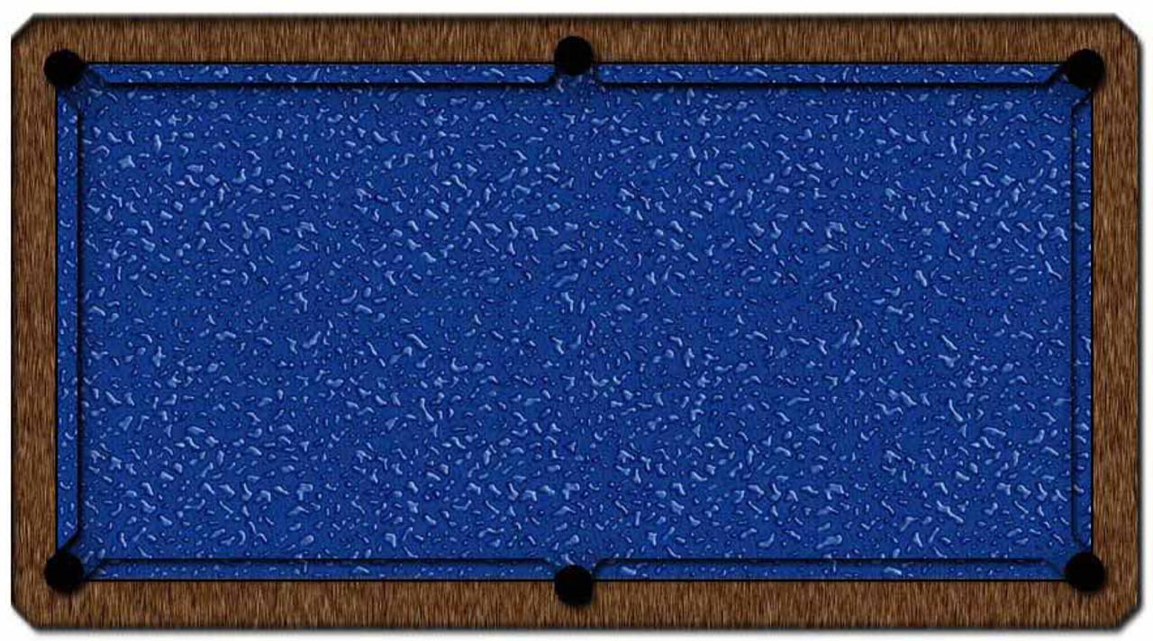 ArtScape Blue Liquid Pool Table Cloth