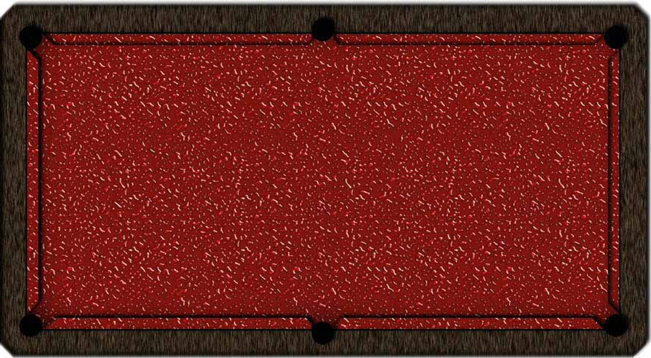 ArtScape Red Liquid Pool Table Cloth