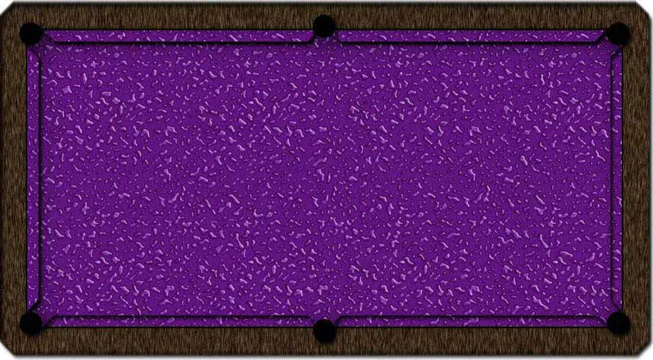 ArtScape Purple Liquid Pool Table Cloth