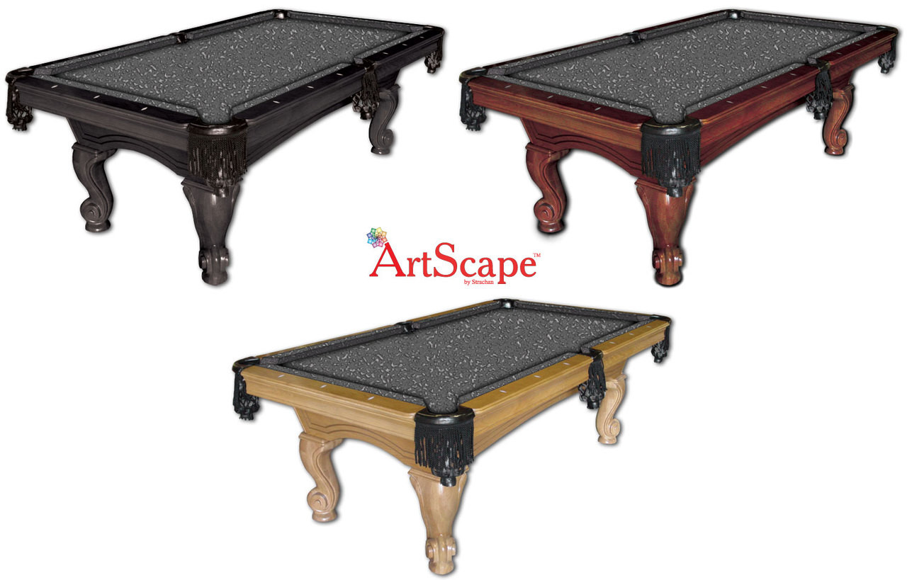 ArtScape Silver Liquid Pool Table Cloth