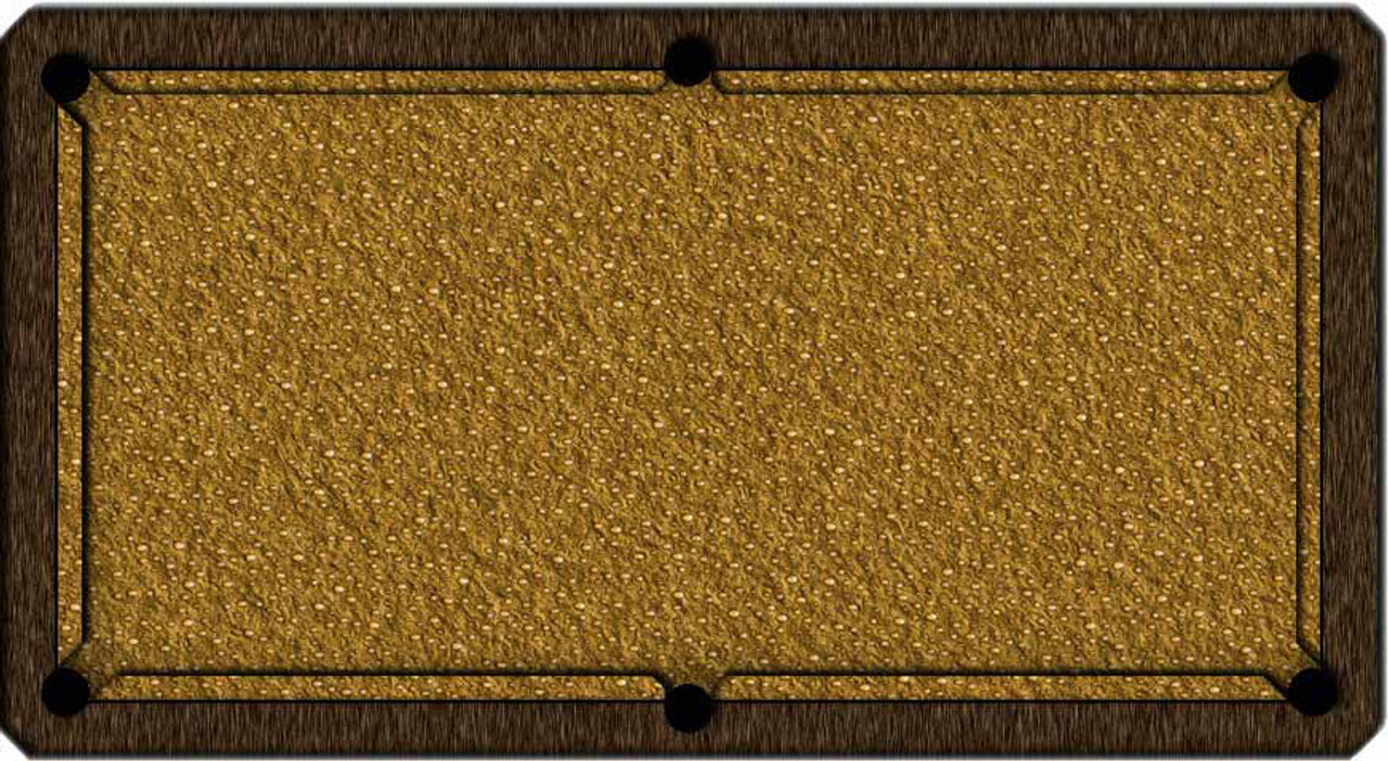 ArtScape Gold Drops Pool Table Cloth