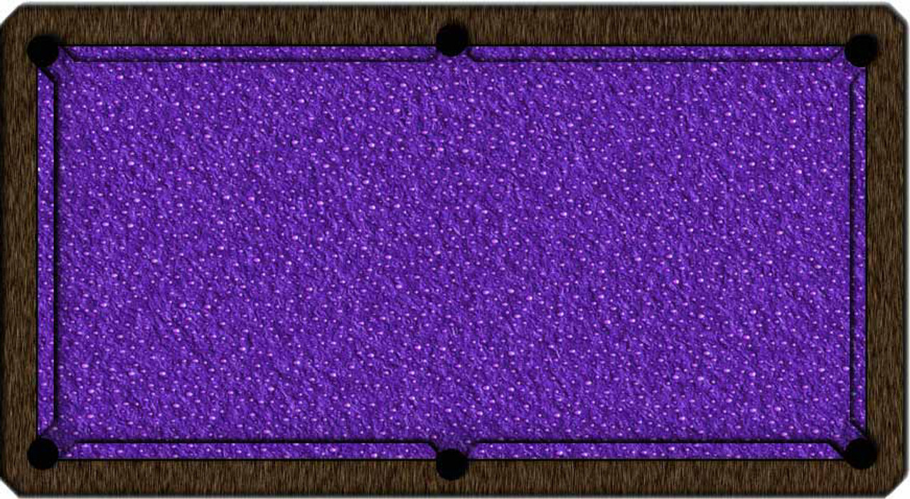 ArtScape Purple Drops Pool Table Cloth