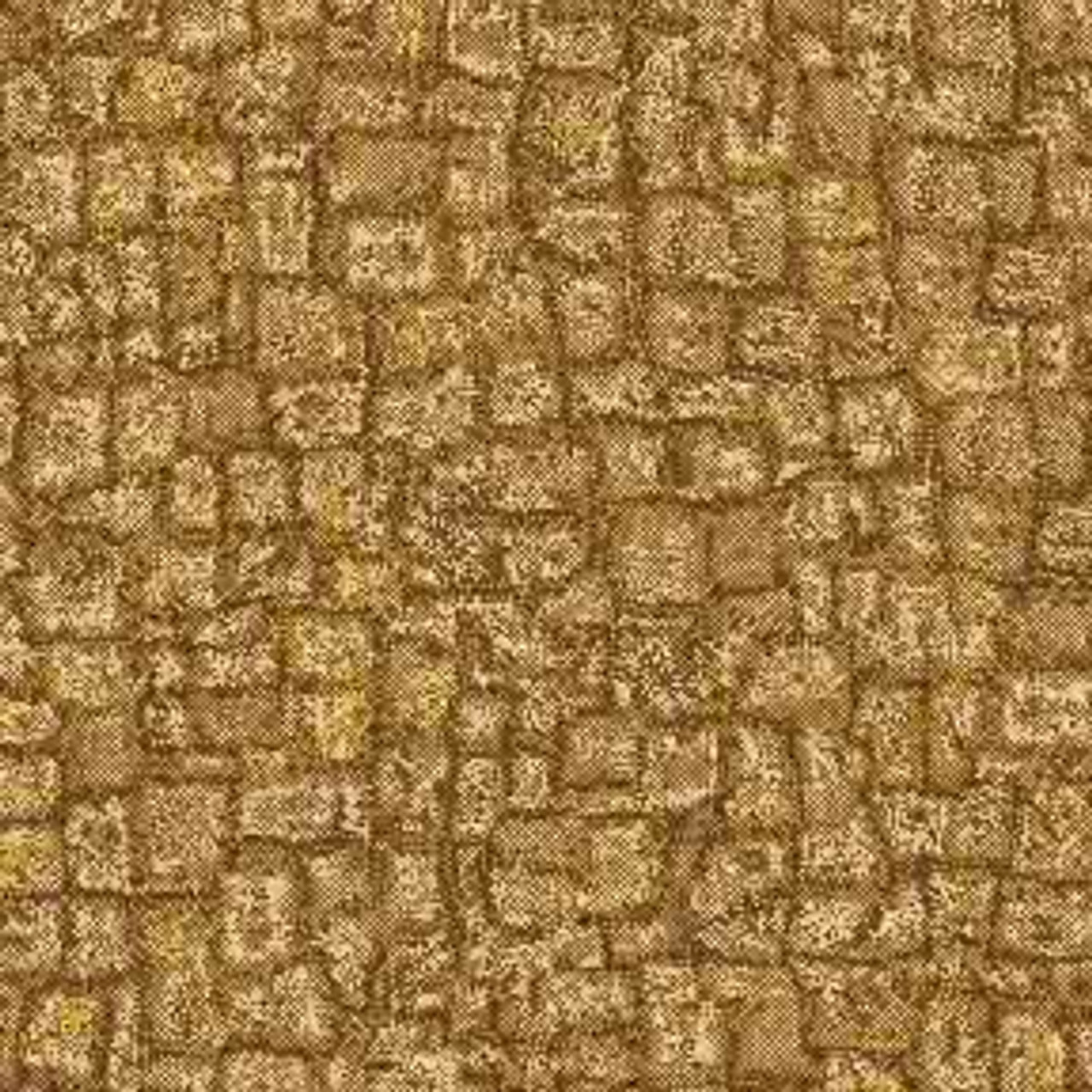 ArtScape Gold Mosaic Pool Table Cloth