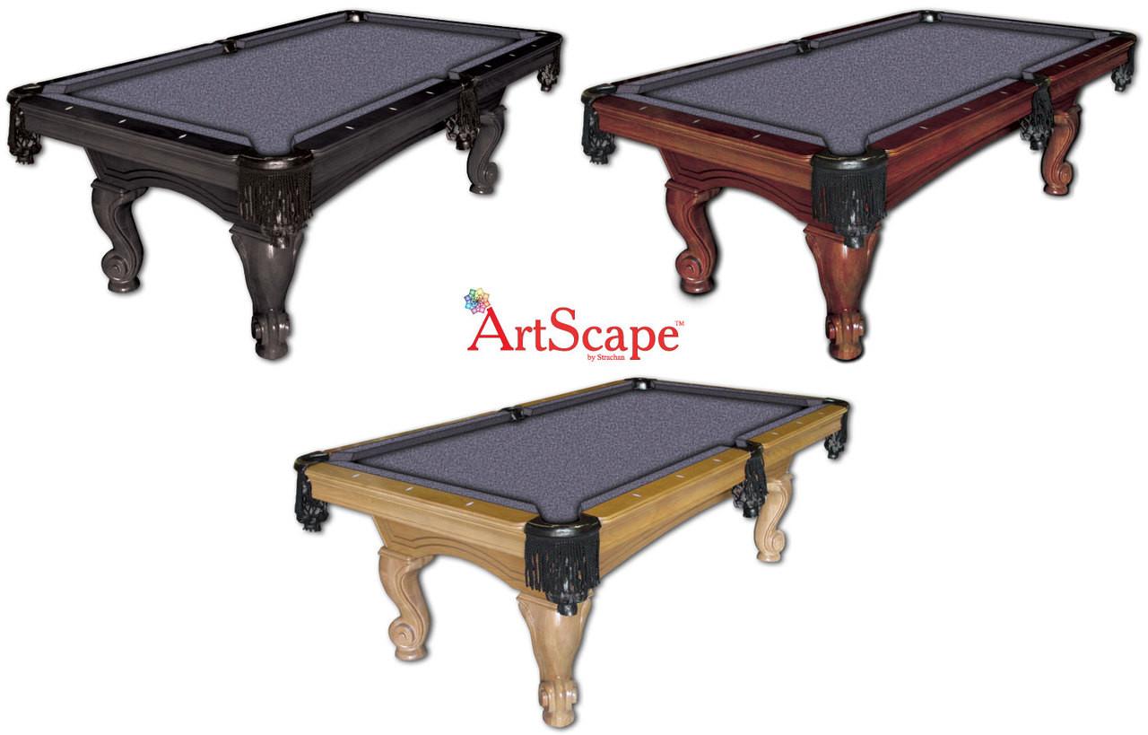ArtScape Silver Mosaic Pool Table Cloth