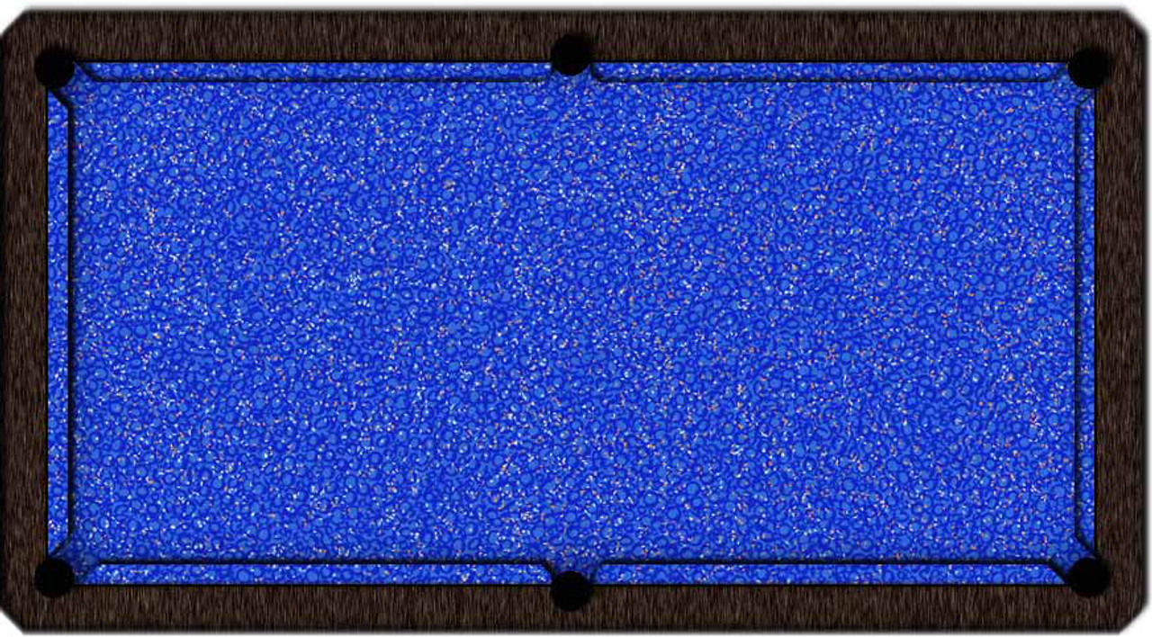 ArtScape Blue Confetti Pool Table Cloth