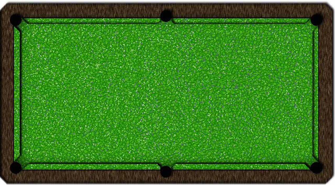 ArtScape Green Confetti Pool Table Cloth