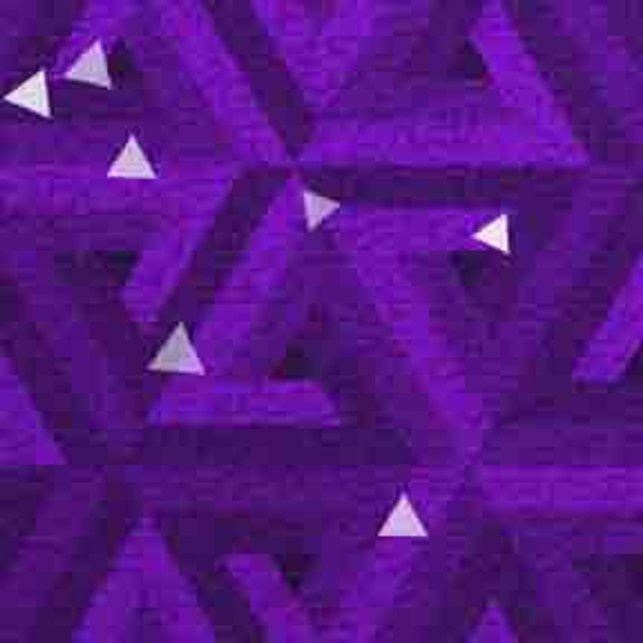 ArtScape Purple Triangles Pool Table Cloth