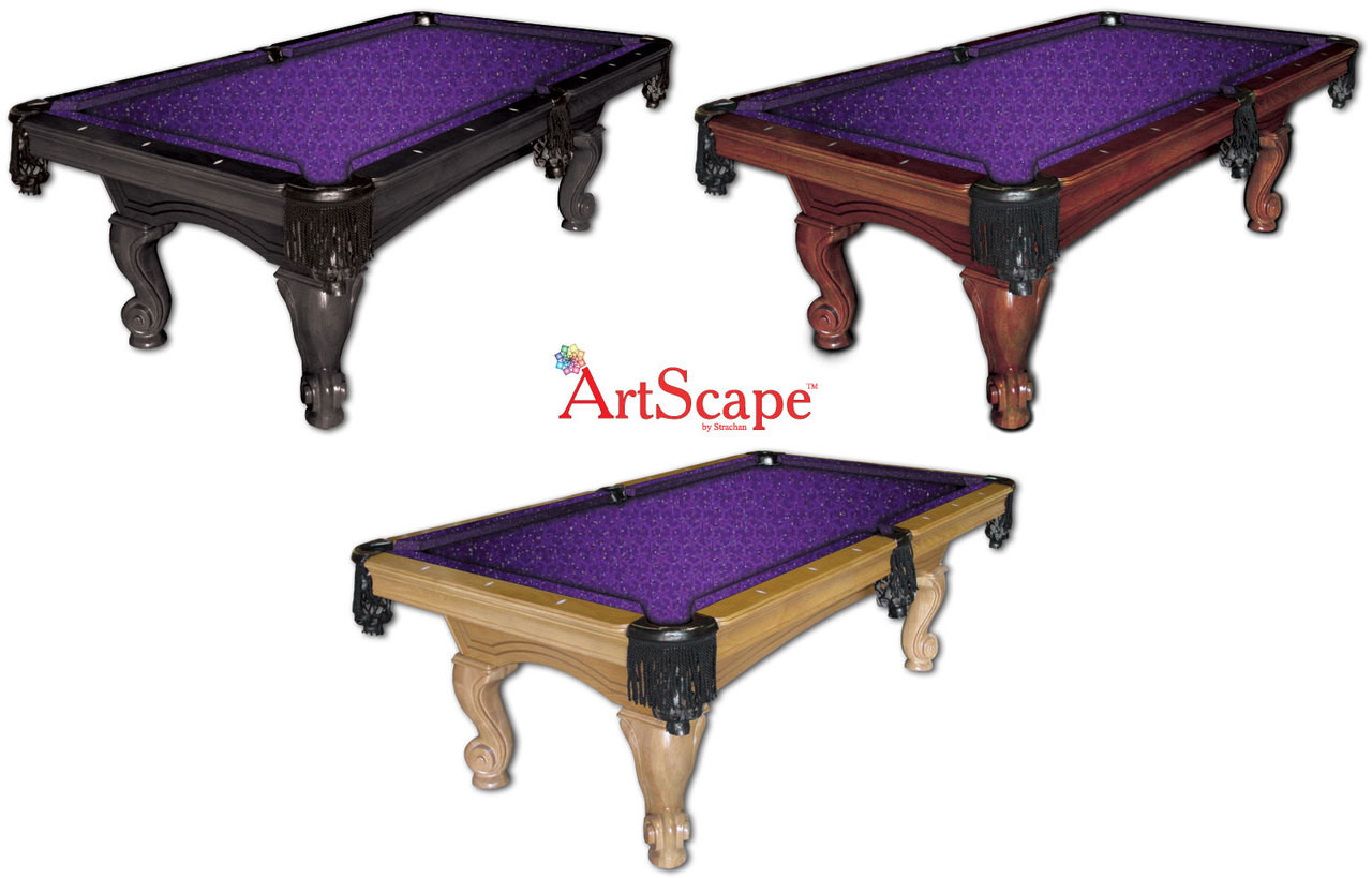 Triangles Pool Table Cloth