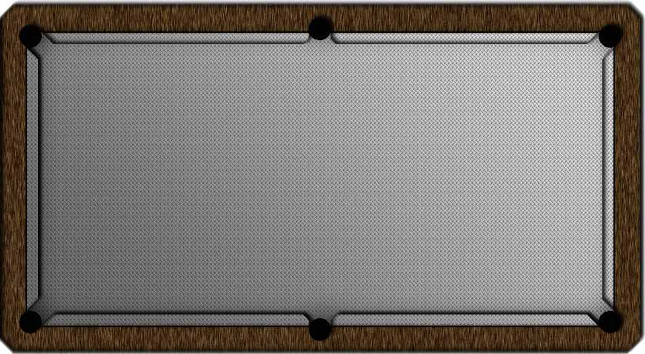 ArtScape Diamond Plate Pool Table Cloth