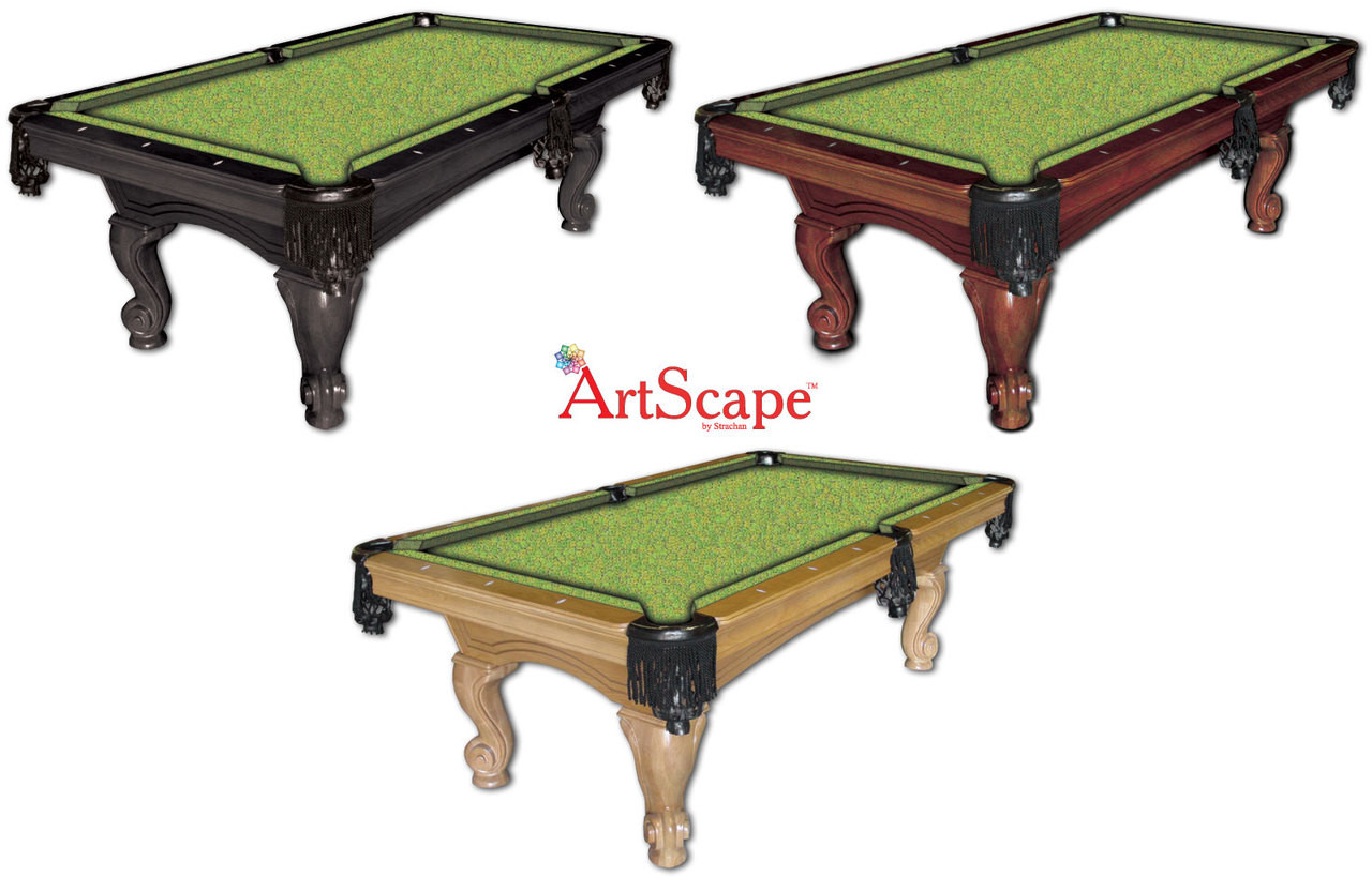 ArtScape Lime Citrus Pool Table Cloth