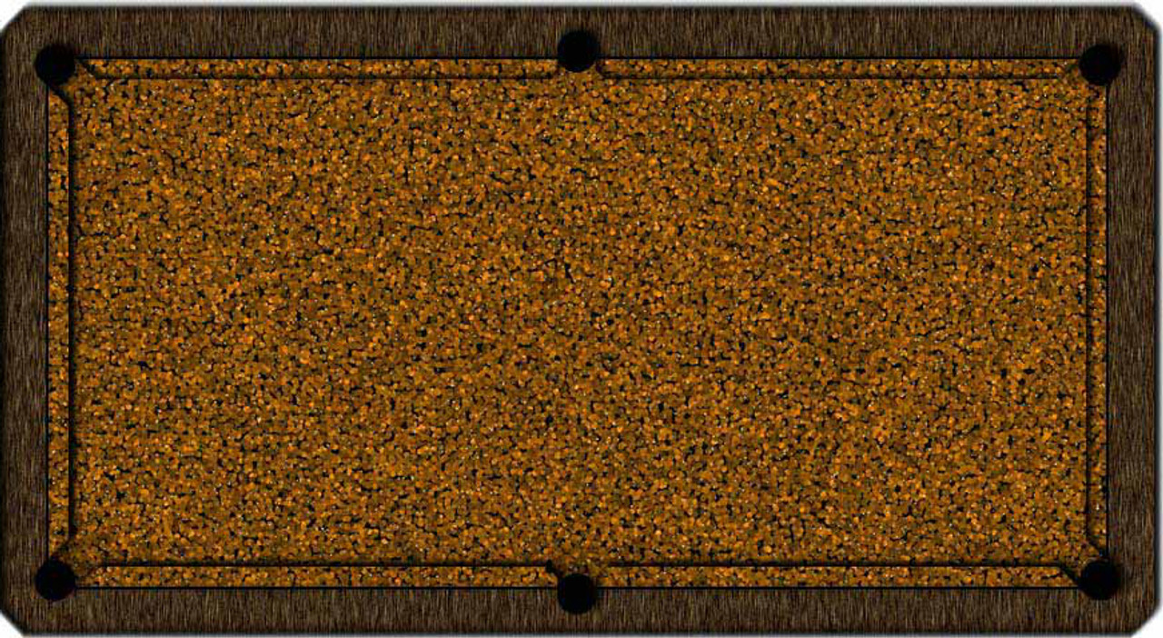 ArtScape Gold Cells Pool Table Cloth