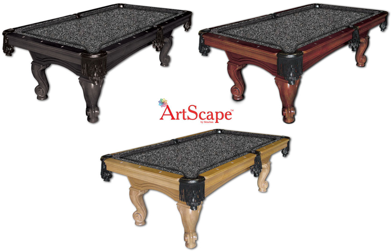 ArtScape Silver Cells Pool Table Cloth