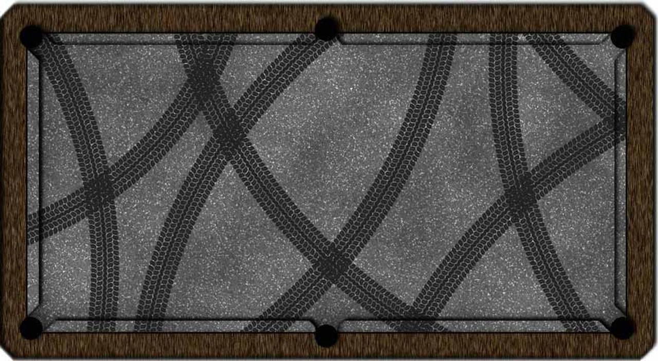 ArtScape Tire Tracks Pool Table Cloth