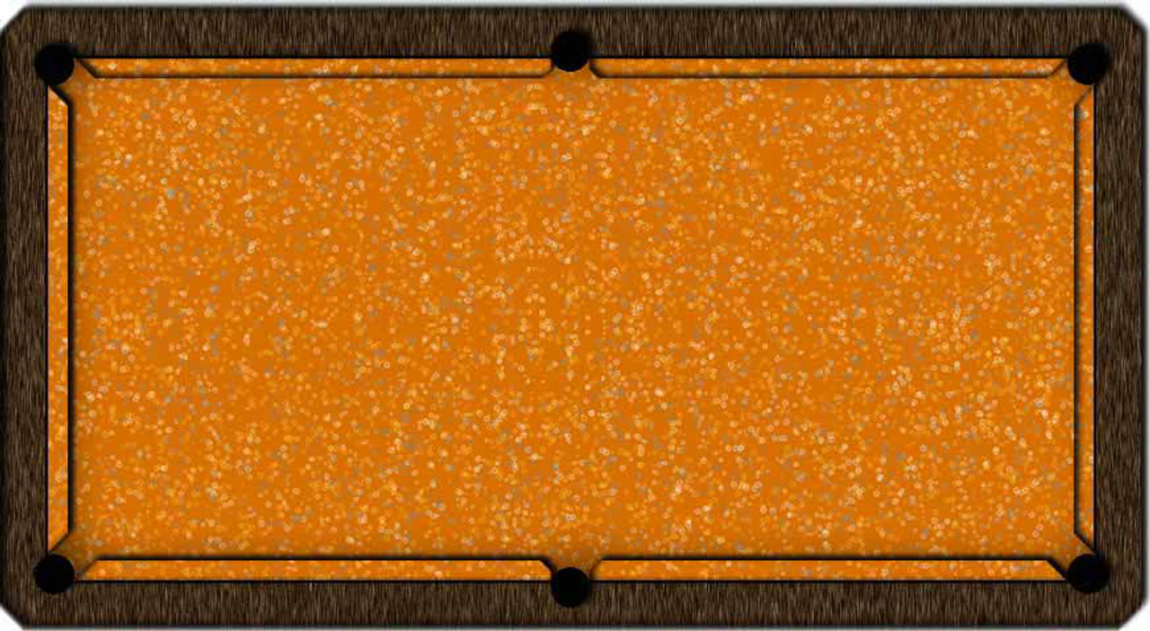 ArtScape Gold Rings Pool Table Cloth