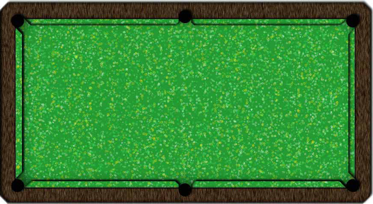 ArtScape Green Rings Pool Table Cloth
