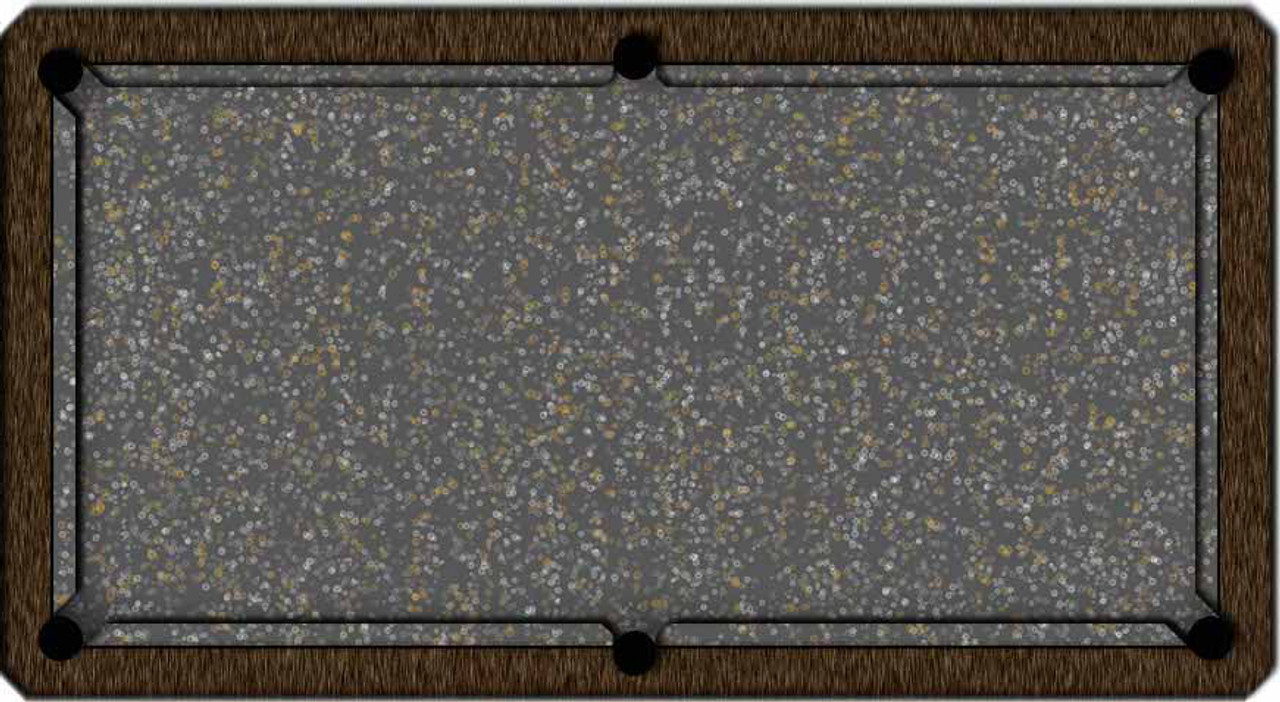ArtScape Silver Rings Pool Table Cloth