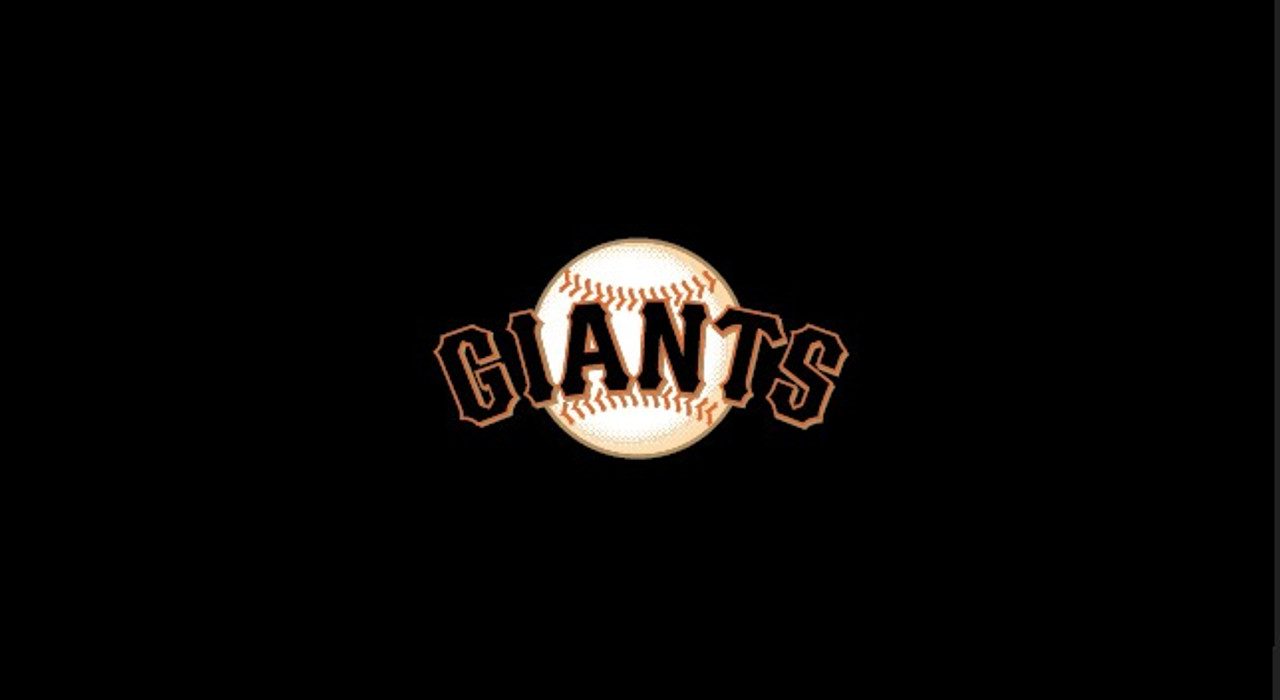 San Francisco Giants Pool Table Felt 9 foot table