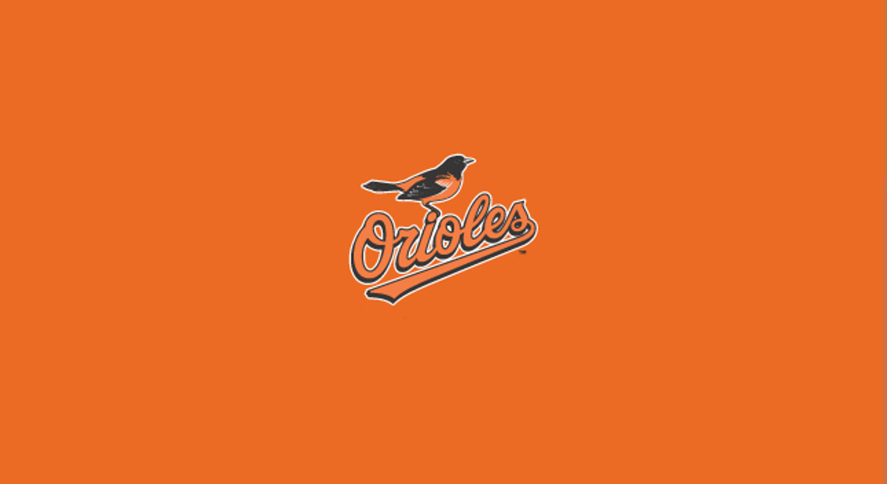 Baltimore Orioles Pool Table Felt 9 foot table