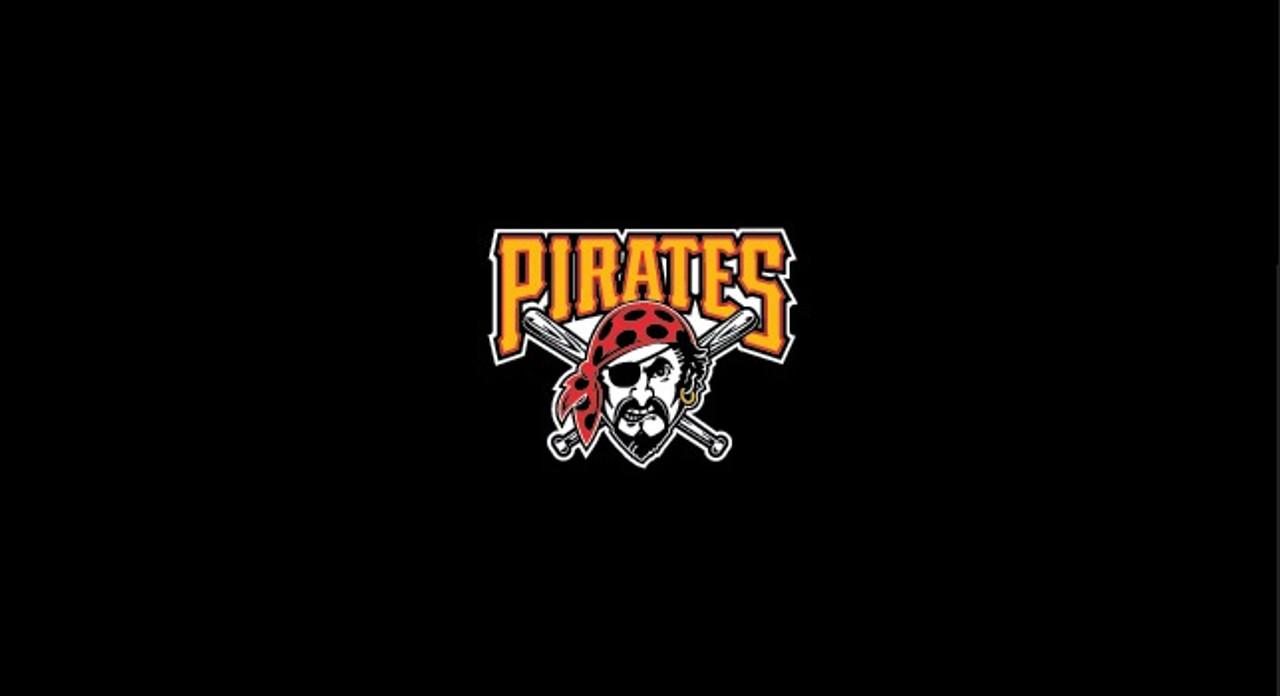 Pittsburgh Pirates Pool Table Felt 9 foot table